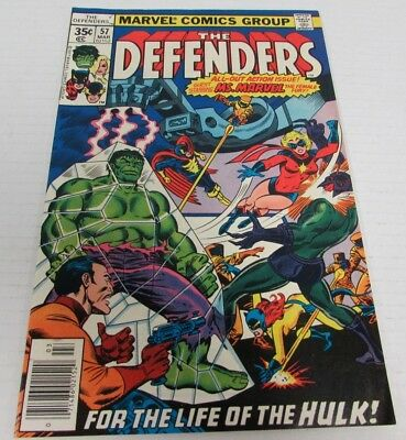 Defenders #57 (1977) Marvel Comics High Grade 9.0 Bronze Age CH015