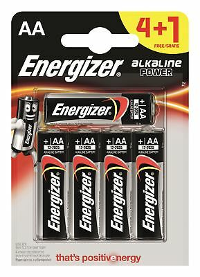 5 x Energizer AA Alkaline Power Plus Batteries LR6 MN1500 MIGNON STILO