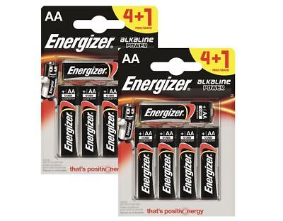 10 x Energizer AA Alkaline Power Plus Batteries LR6 MN1500 MIGNON STILO