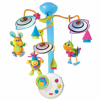 Tiny Love Classic Developmental Nursery Baby Mobile Toy for Crib with Music