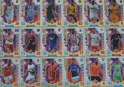 Match Attax Extra 2017/18 Matchwinner Hattrick-Held Club 100 aussuchen 2018