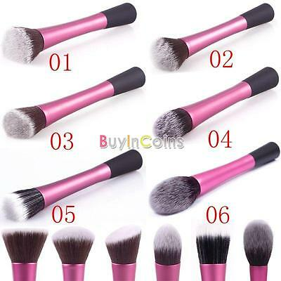 Professional Dense Concealer Powder Blush Foundation Brush Cosmetic Makeup erca