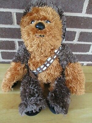 "New Build a Bear17"" Tall Star Wars Chewbacca Plush Stuffed with Tags/ Sound 2017"