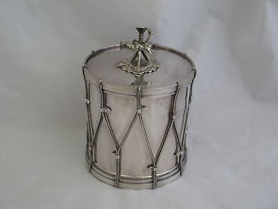 Fantastc English Victorian Silverplate Tea Caddy