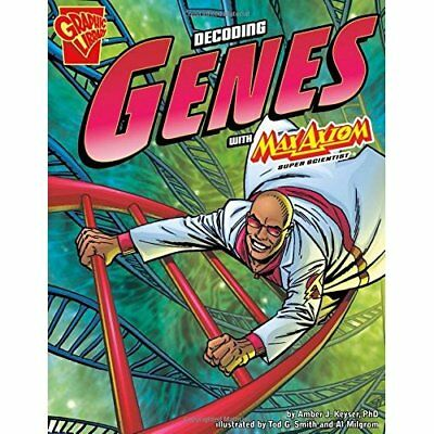 Decoding Genes With Max Axiom, Super Scientist (Graphic - Paperback NEW Amber J.