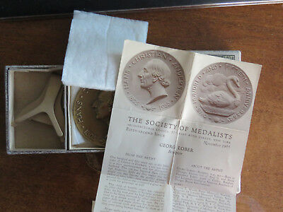 """Medallic Art Co. Society Of Medalists: """"anderson / 150Th""""  #52 George Lober"""