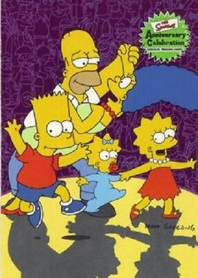 SIMPSONS 10TH ANNIVERSARY  BASE / BASIC CARDS   001 to 081     CHOOSE