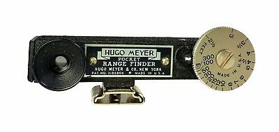 Hugo Meyer Pocket Ranger Finder Still and Video Photography 1940s MIB