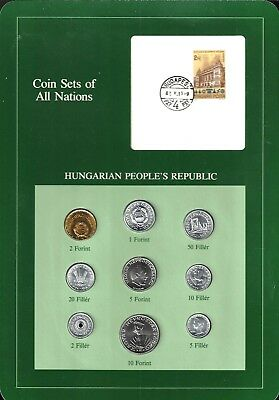Coins Of All Nations - Hungarian People's Republic