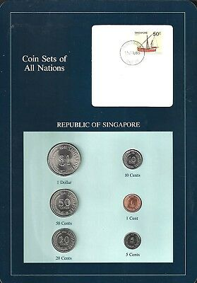 Coins Of All Nations - Republic Of Singapore