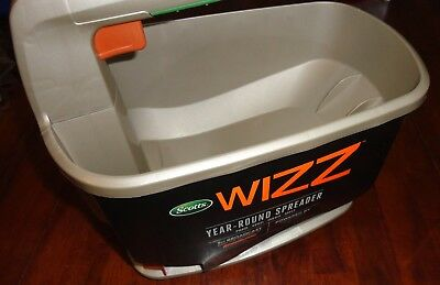 Scotts Wizz Hand Held Year Round Spreader - Feed Seed Weed And Melt Ice