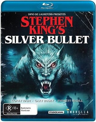 Stephen King's Silver Bullet [New Blu-ray] Australia - Import