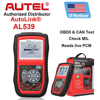 Updatable Autel AL539 OBD2 CAN Circuit Electrical Test Tool Code Reader
