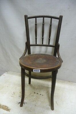 4485. Alter Bugholz THONET Stuhl Old wooden chair