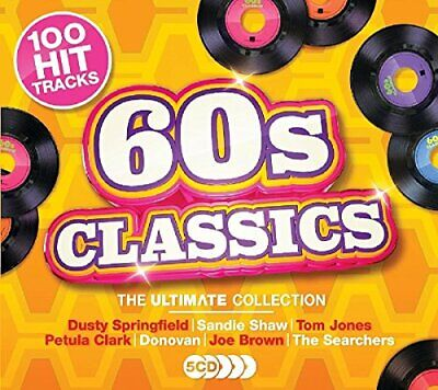 Various Artists - Ultimate 60s Classics - Various Artists CD PMVG The Cheap Fast
