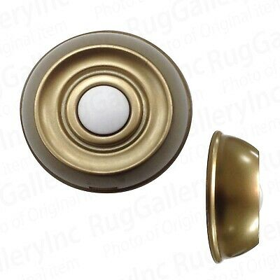 Hampton Bay HB-7707-02 Replacement Wireless Push Button Aged Brass 150 Ft. Range