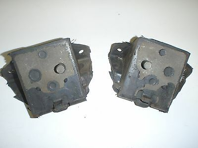 2 Front Motor Mounts 1965-1970 Oldsmobile Dynamic Delta Jetstar 88 NEW PAIR