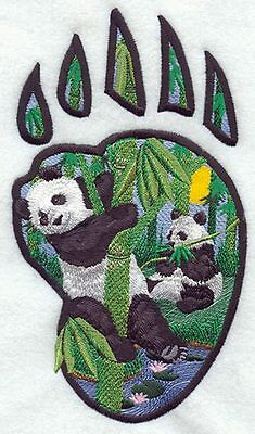 Embroidered Long-Sleeved T-Shirt - Panda Track M1653 Sizes S - XXL