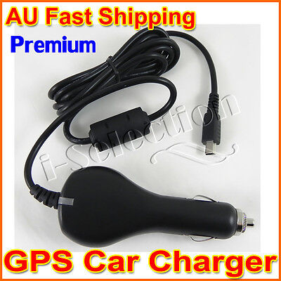 Premium GPS Car Charger for Navman MY670LMT MY570LMT MOVE75 MOVE85LM DRIVE DUO