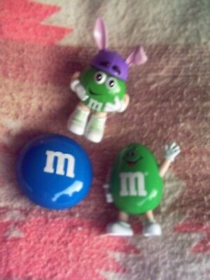 THREE (3) COLLECTIBLE M&M Dispensers