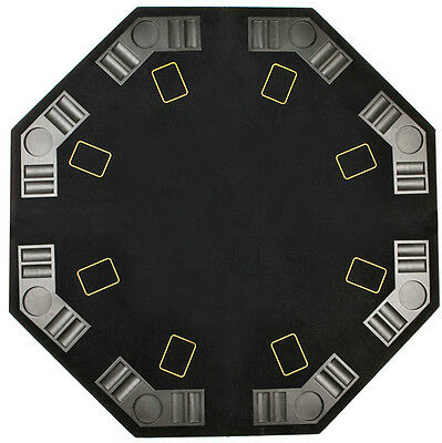 Table Plateau Poker Blackjack Octagonal 8 Pers Foldable New