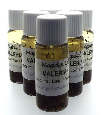 Valerian Herbal Magickal Anointing 10ml Oil Exorcism Love Protection