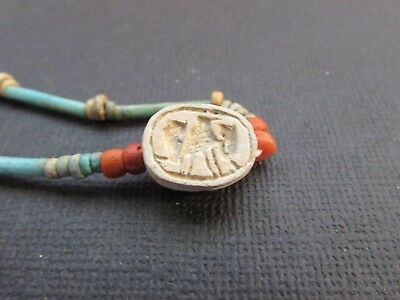 NILE  Ancient Egyptian Scarab Amulet ca 1000 BC