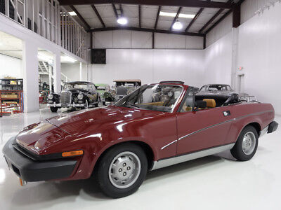 1980 Triumph TR7 Convertible   55,401 believed-to-be actual miles! 1980 Triumph TR7 Convertible   Factory air conditioning   Recently serviced