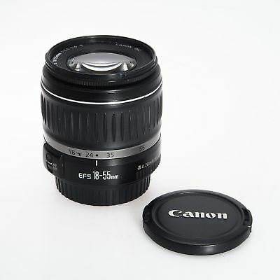 Canon EF-S 18-55mm F3.5-5.6 II Autofocus Wide Angle Zoom EOS Lens
