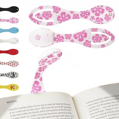 Clip on LED Reading Light Book Light for Reading in Bed Bookmark Great Gift