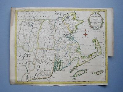 "C1780: ""A New and accurate Map of the Colony of Massachusetts Bay in North ..."""