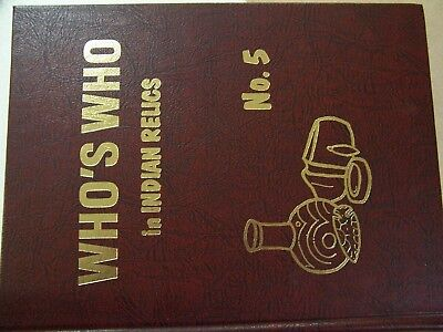 """First Edition Copy Of """"who's Who In Indian Relics"""" No. 5 (1980)"""