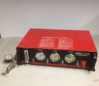 Richard Wolf Medical Instr. 2026.60 CO2 Insufflator w/High Pressure Yoke+ Gauge