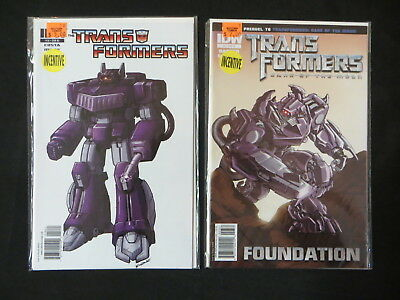 Transformers #3 #18 Retailers Incentive Variants 2 Issue Idw Lot Optimus Prime
