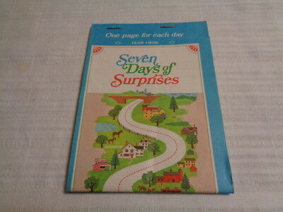 "Vintage 1968 Humble Travel Club - ""seven Days Of Suprises"" Travel Game"