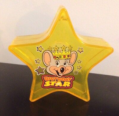 Chuck E. Cheese Birthday Star Token Coin Bank