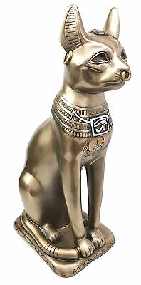 "Egift Ancient Egyptian Goddess Bastet Large 11.5""H Figurine by Summit"