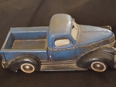 1941 Vintage Rare Old Solid Cast Iron Pickup Truck