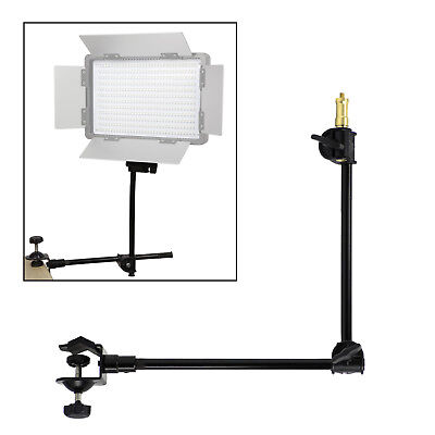11in-24in 360° Adjustable Sliding & Rotating Magic Arm w/Table Mounting Clamp