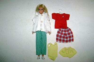 Barbie Doll *skipper Doll Lot W Clothes Swimsuit Pants Sweater Most Tagged
