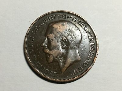 GREAT BRITAIN 1926 1 Penny coin circulated