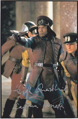 Star Wars Hugh Quarshie as Captain Panaka Autogramm