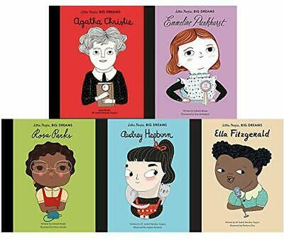 Little People, Big Dreams Series 3 Books Collection Set by Lisbeth Kaiser NEW