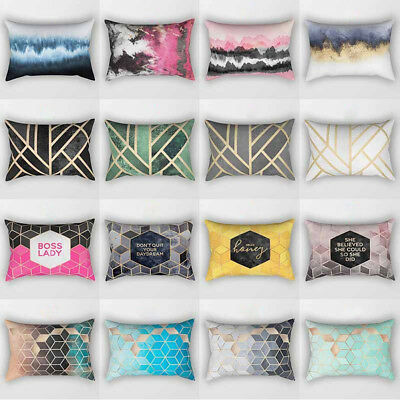 Geometric Pillowcase Throw Pillow Cover Sofa Cushion Cover Home Decor Eyeful
