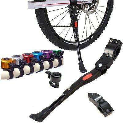 Heavy Duty Adjustable Bicycle Mountain Bike Cycle Prop Rear Side Kick Stand