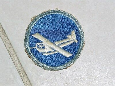 Wwii Us Army Airborne Infantry Ab Glider Para Overseas Hat Oval Patch Uniform