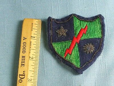 Original Mars Task Force Bullion Patch China Burma India Insignia Cbi Made