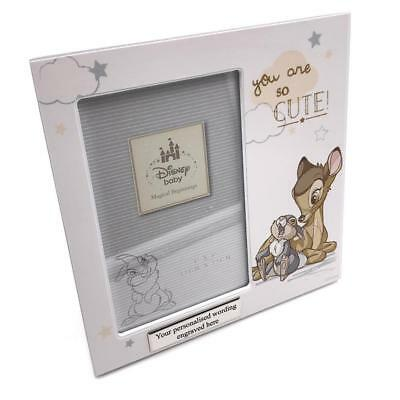 Personalised Disney Bambi and Thumper Baby Photo Frame DI410-P