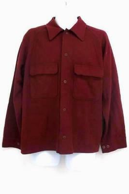 Vintage Genuine C.C. Filson Garment Wool Men's Button Up Shirt Size XL
