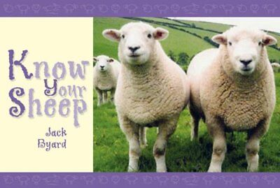 Know Your Sheep by Jack Byard Paperback Book The Cheap Fast Free Post
